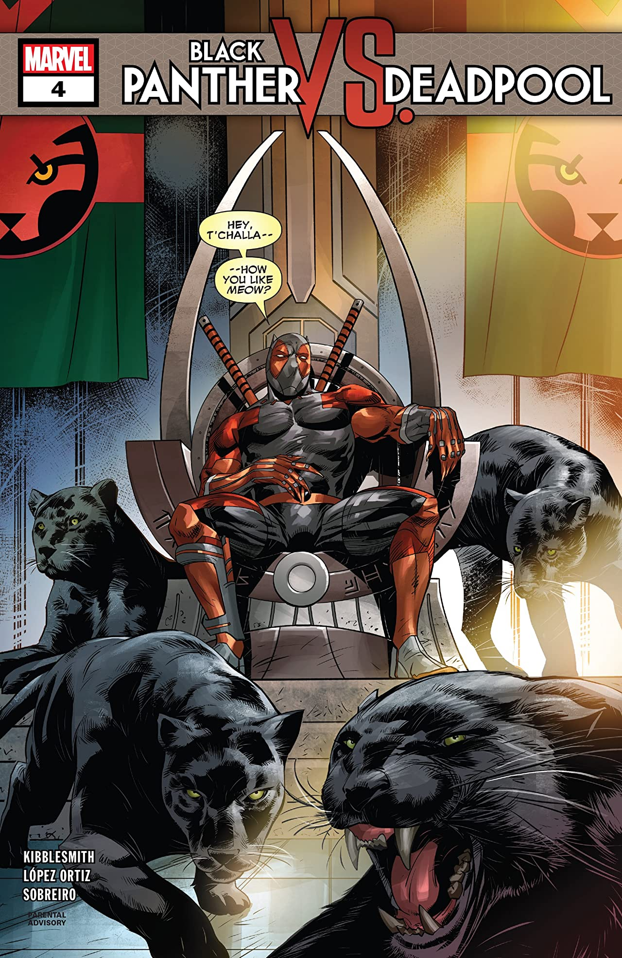 Black Panther vs. Deadpool (2018-2019) No.4 (sur 5)