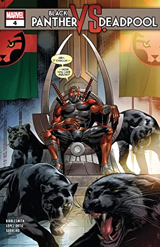 Black Panther vs. Deadpool (2018-2019) #4 (of 5)