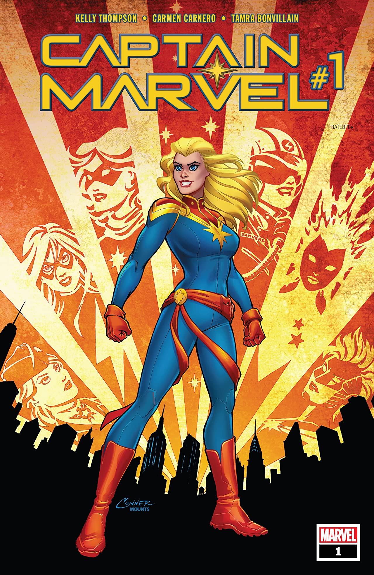 Captain Marvel (2019-) #1