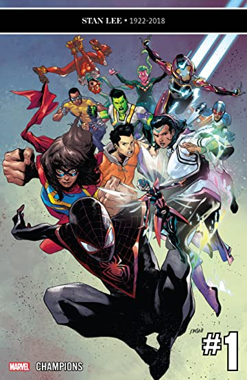 Image result for Champions comic #1 2019
