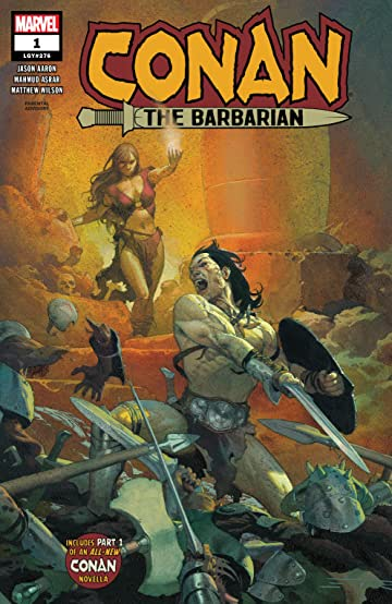 Image result for conan the barbarian #1 new Marvel