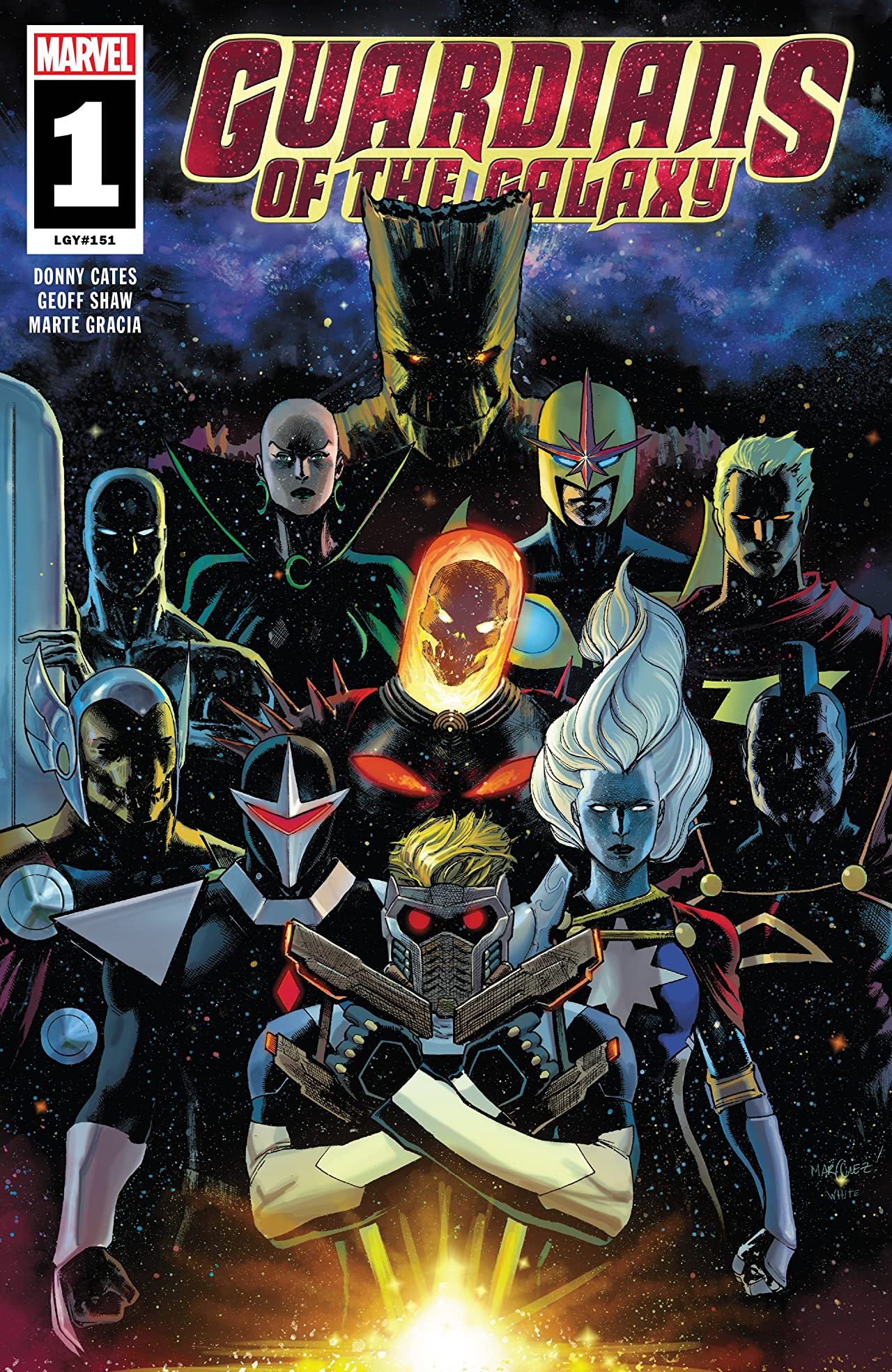 Guardians of the Galaxy (2019) #1