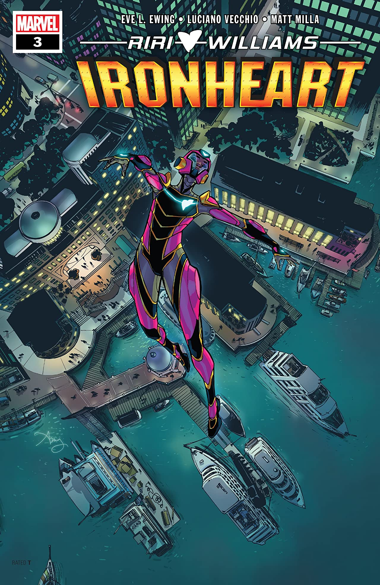 Ironheart (2018-) No.3
