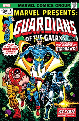 Guardians of the Galaxy: Marvel Presents (1975-1977) No.3: Facsimile Edition