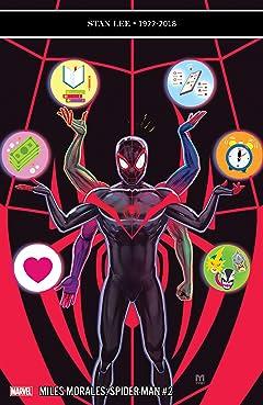 Miles Morales: Spider-Man (2018-) No.2