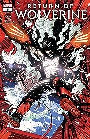 Return Of Wolverine (2018-2019) #5 (of 5)