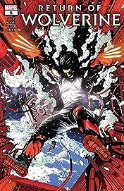 Return Of Wolverine (2018-) #5 (of 5)