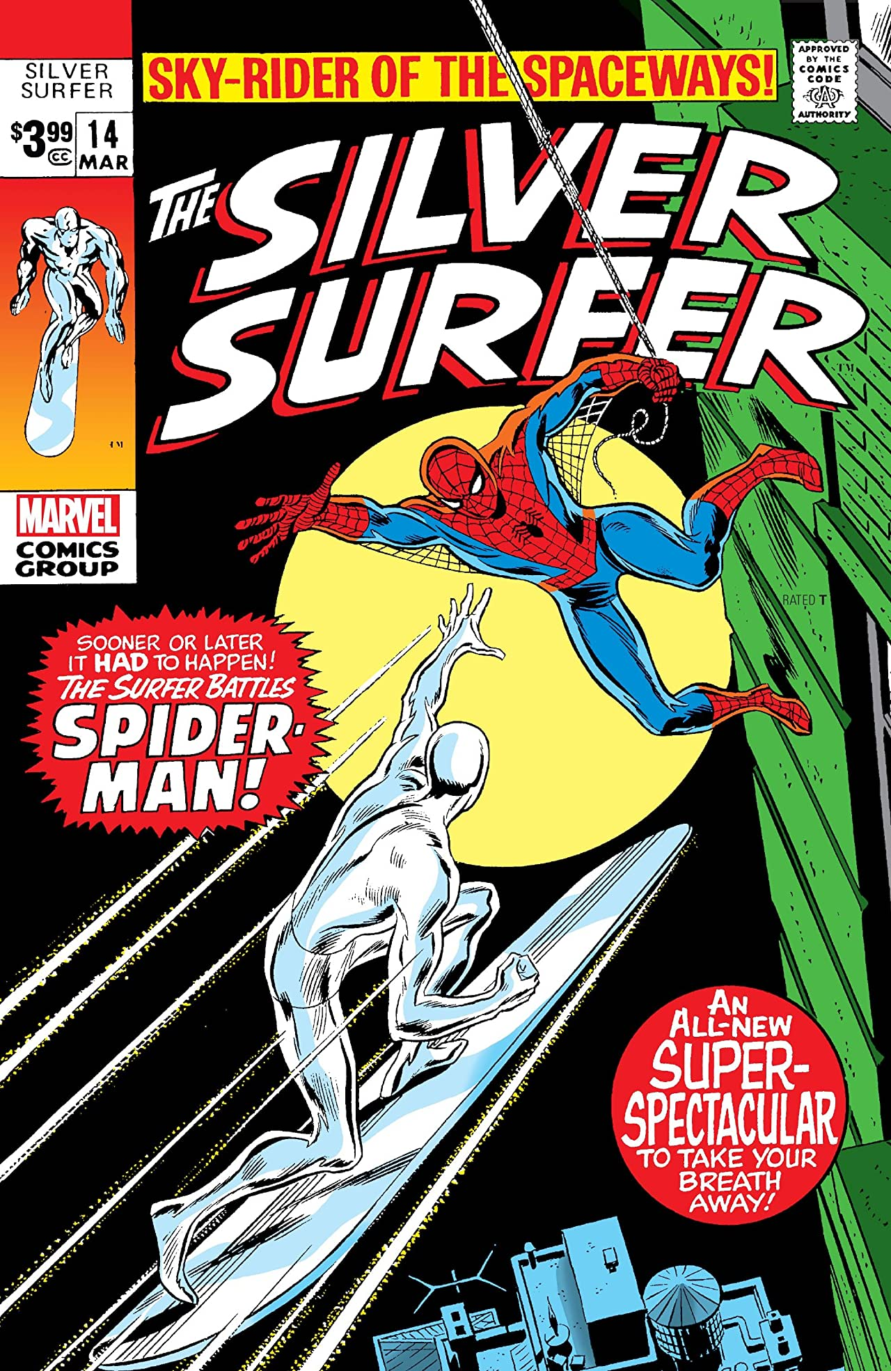Silver Surfer (1968-1970) No.14: Facsimile Edition