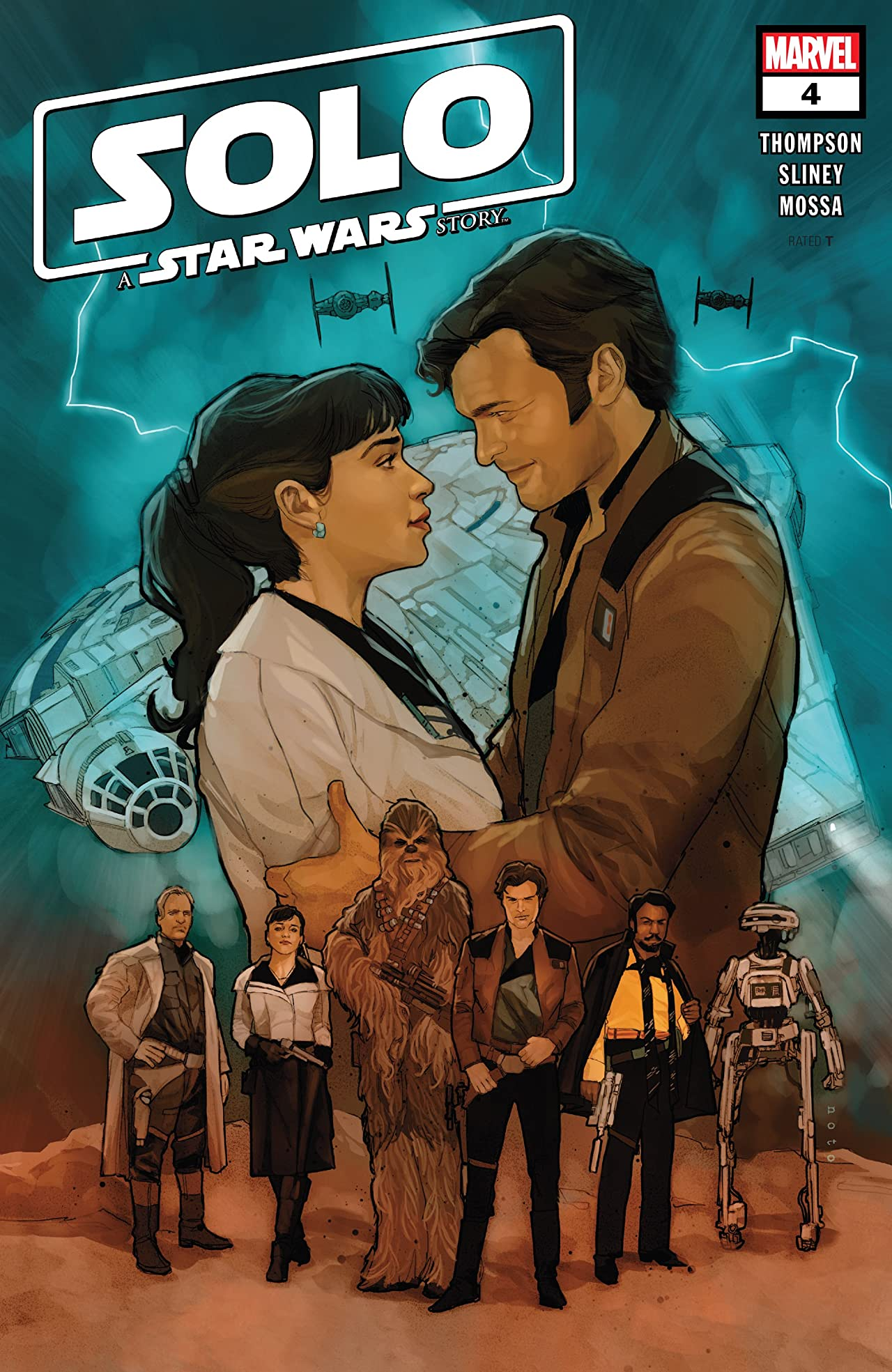 Solo: A Star Wars Story Adaptation (2018-2019) No.4 (sur 7)