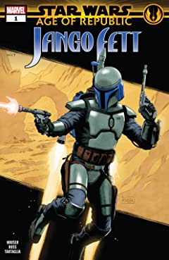 Star Wars: Age Of Republic - Jango Fett (2019) No.1