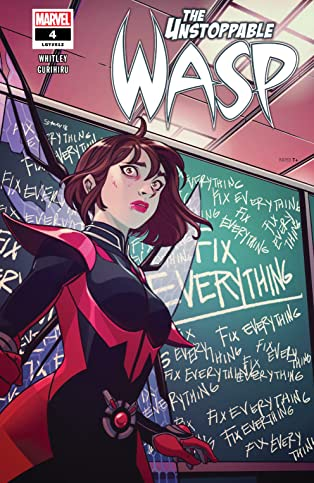 The Unstoppable Wasp (2018-2019) #4