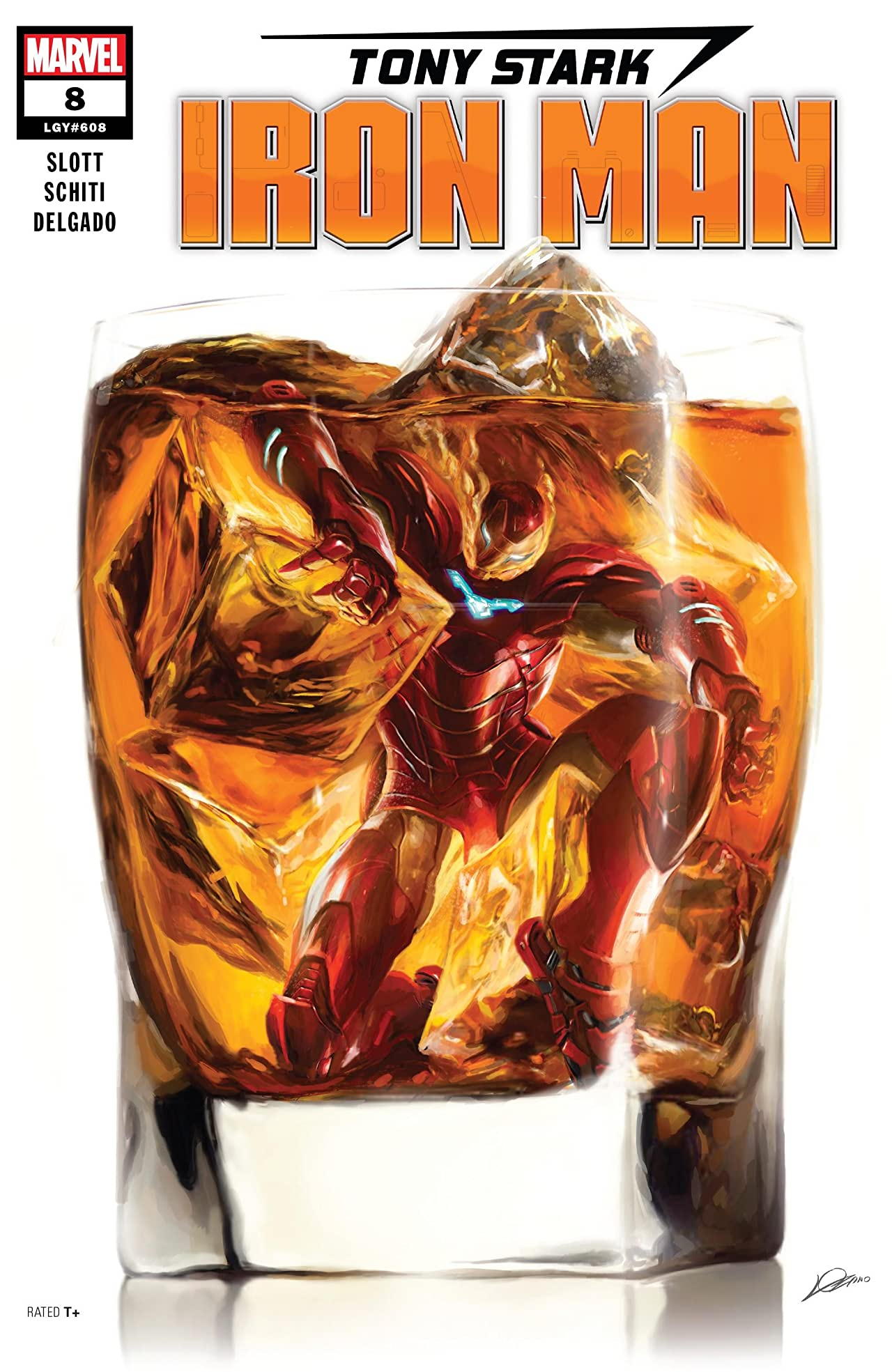 Tony Stark: Iron Man (2018-) No.8