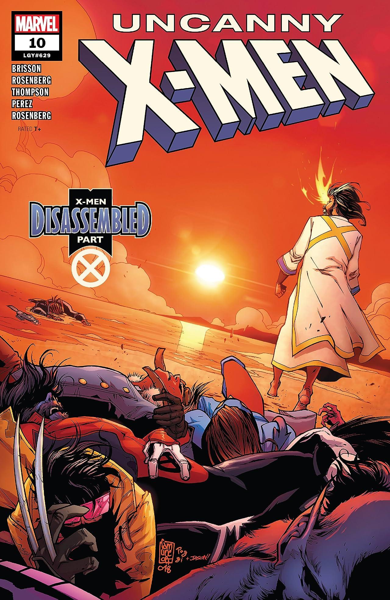 Uncanny X-Men (2018-) No.10