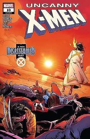 Uncanny X-Men (2018-2019) No.10