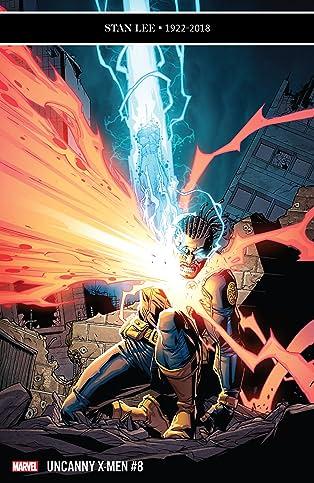 Uncanny X-Men (2018-2019) #8