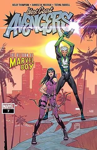 West Coast Avengers (2018-) #7
