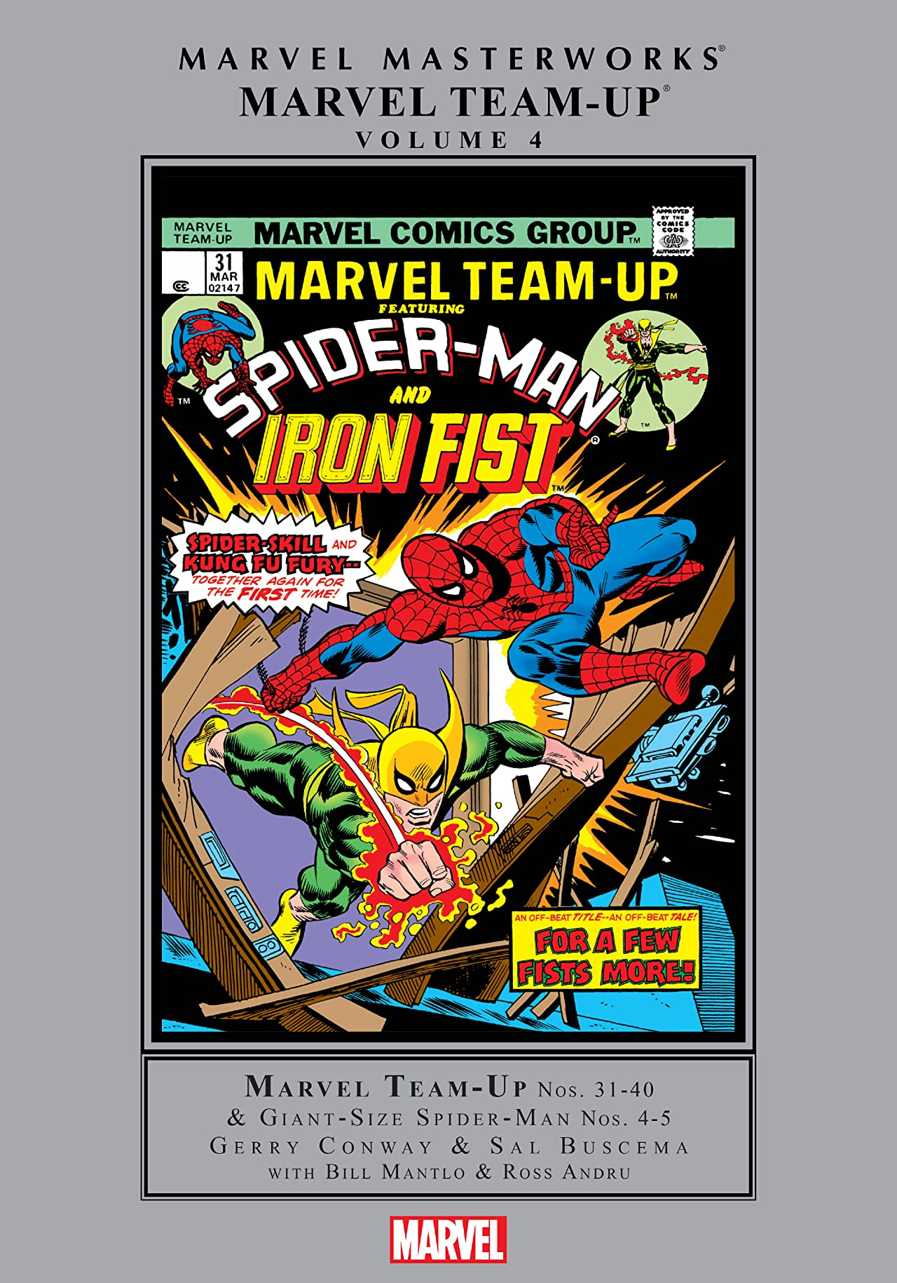 Marvel Team-Up Masterworks Vol. 4