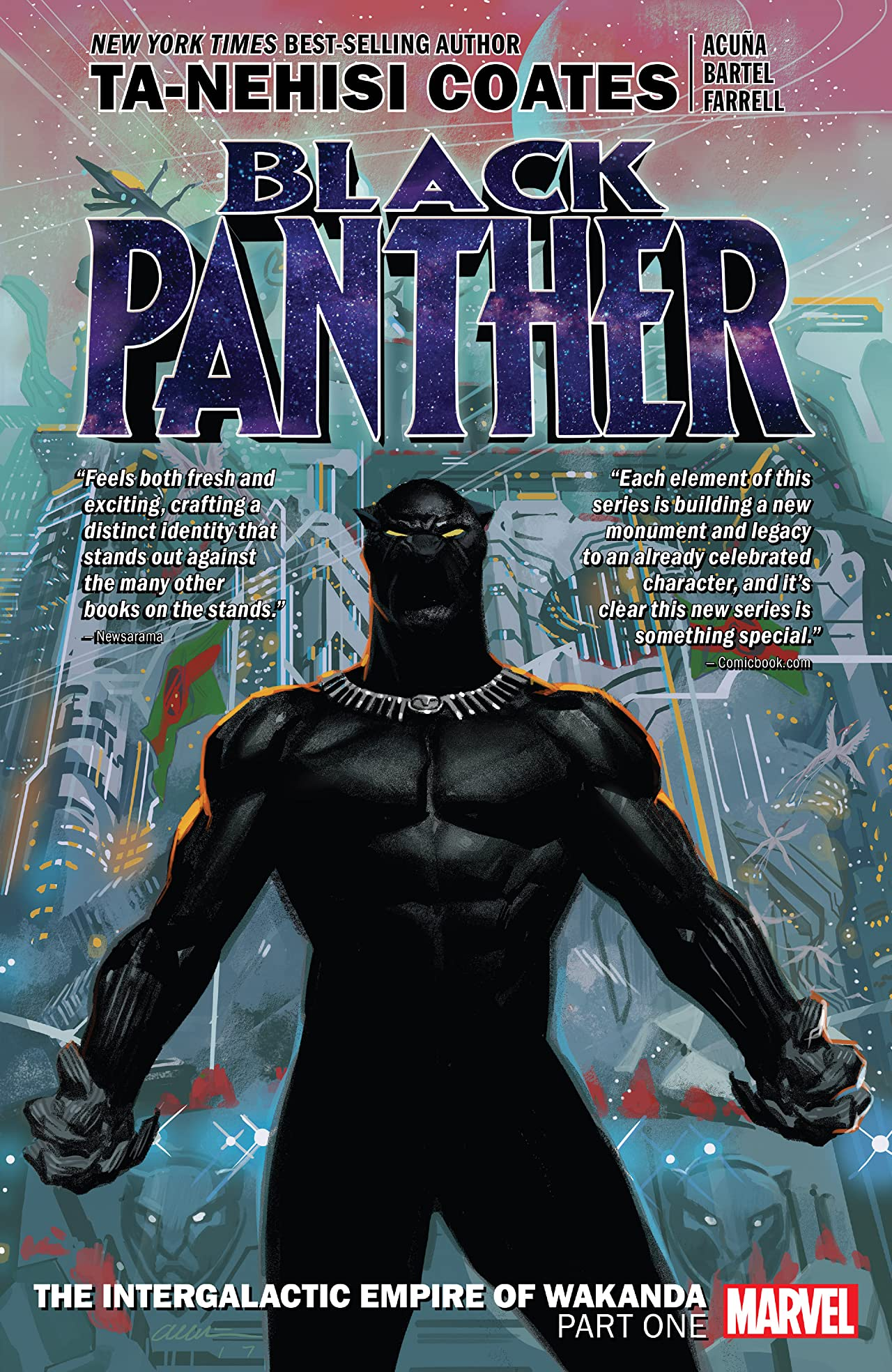 Black Panther Book 6: Intergalactic Empire Of Wakanda Part One