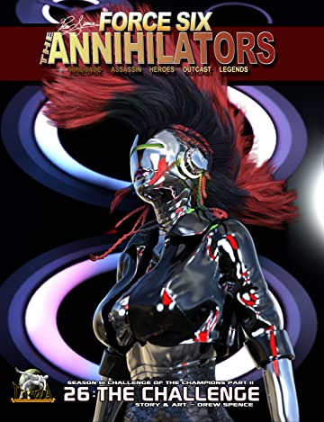 Force Six, The Annihilators #26: The Challenge