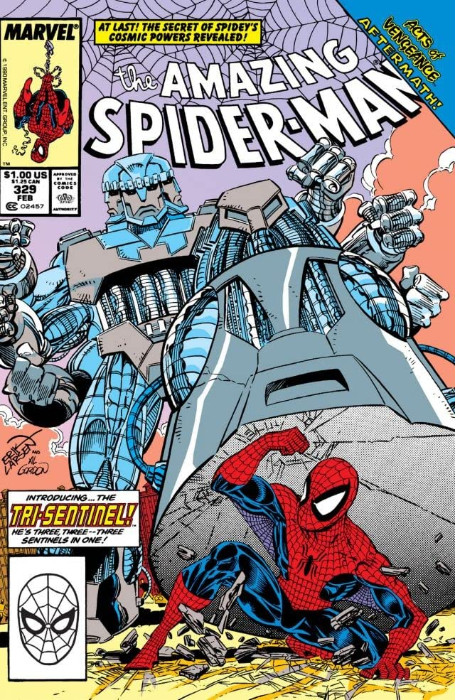 Amazing Spider-Man (1963-1998) #329