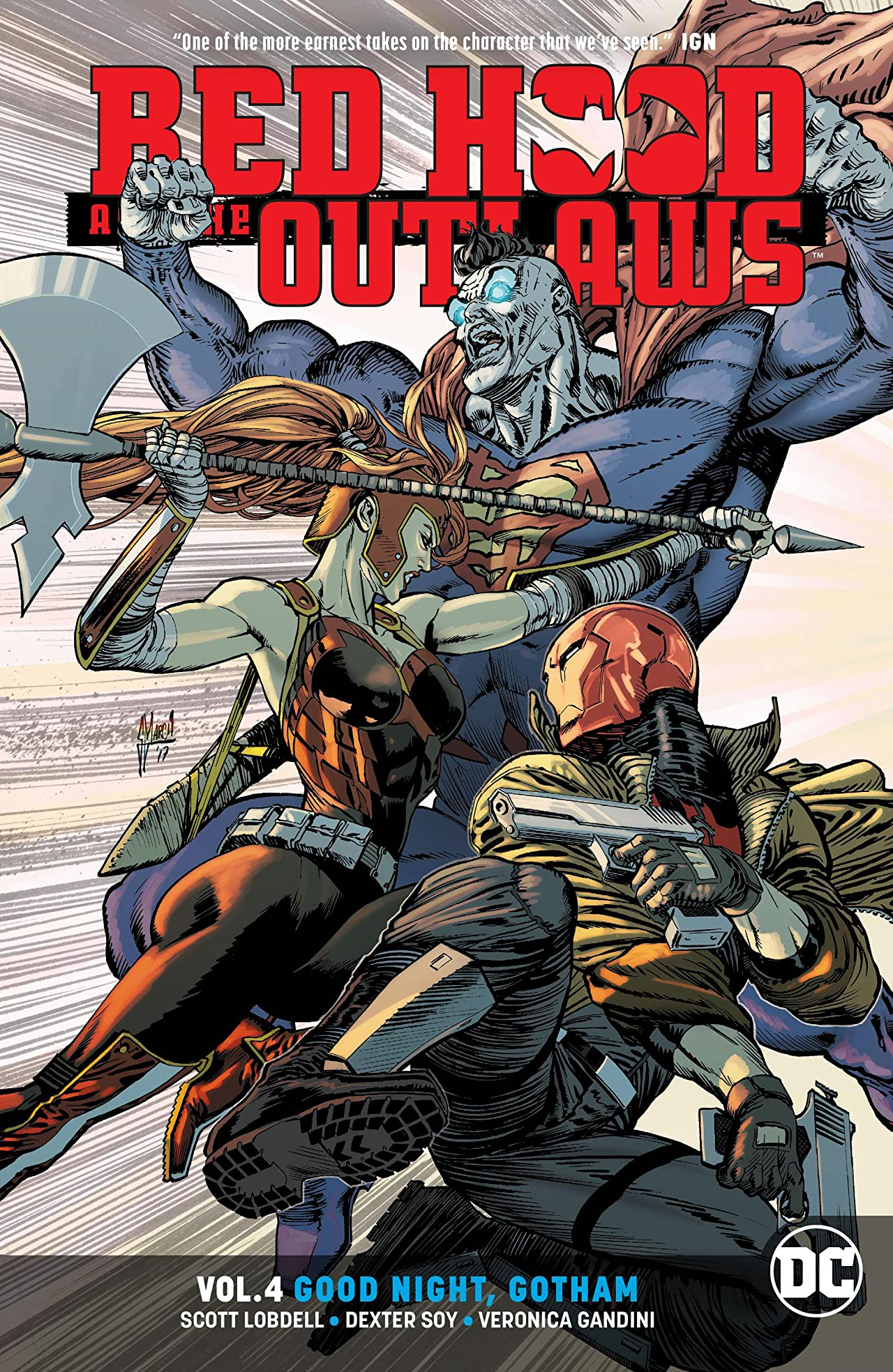 Red Hood and the Outlaws (2016-) Tome 4: Good Night Gotham