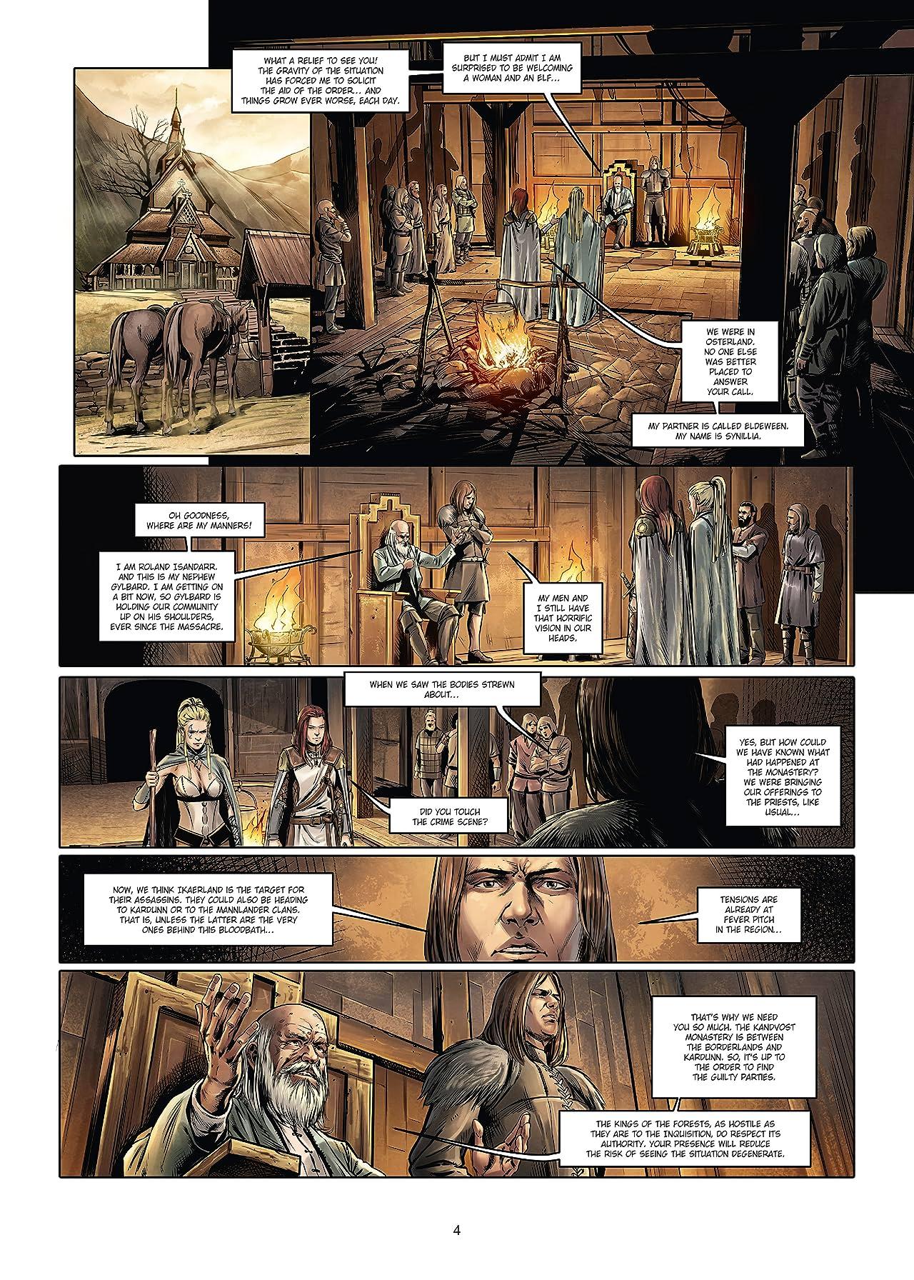 The Master Inquisitors Vol. 8: Synillia