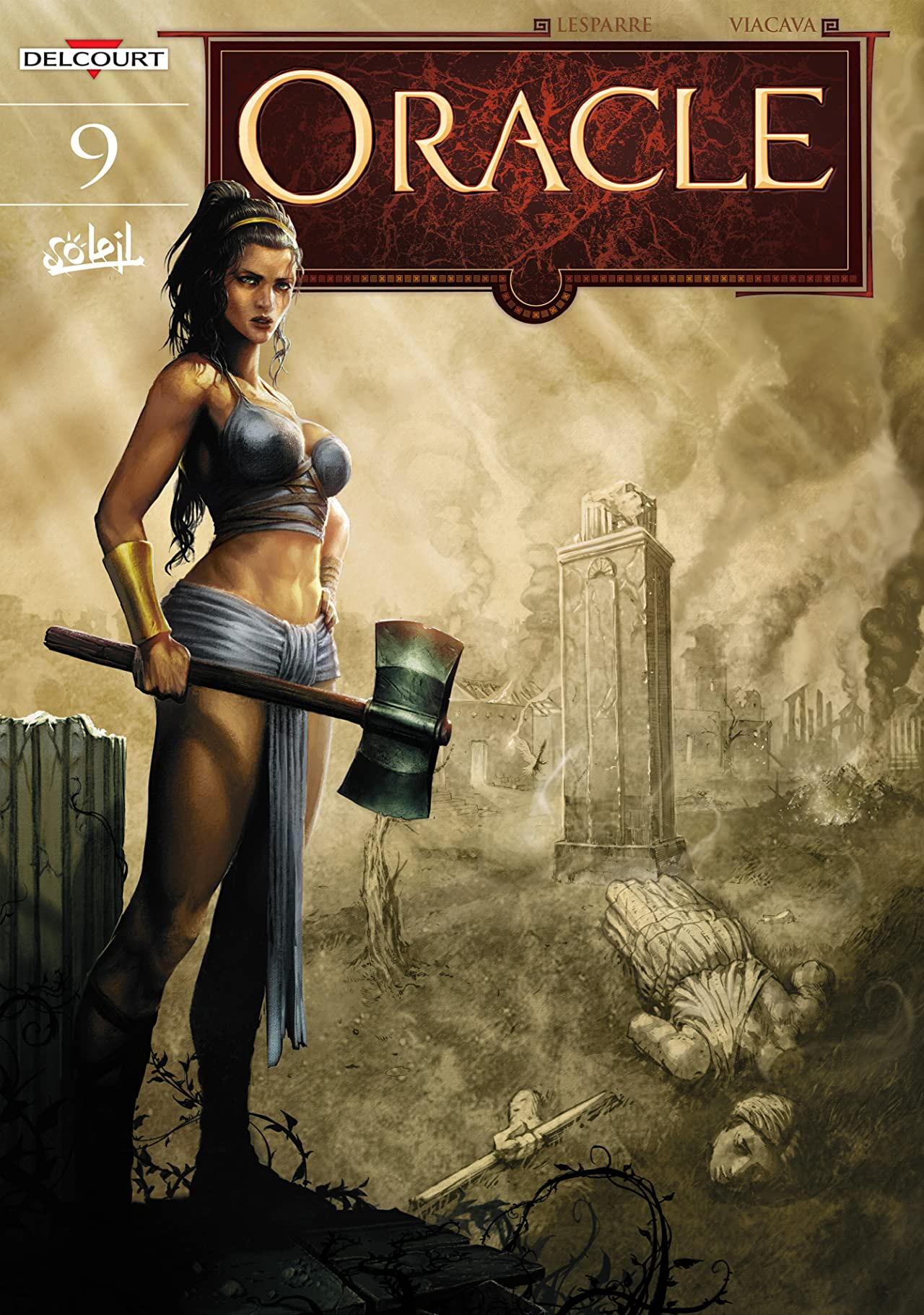 Oracle Vol. 9: The She-Wolf