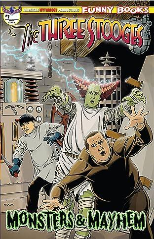 Three Stooges Monsters & Mayhem #1