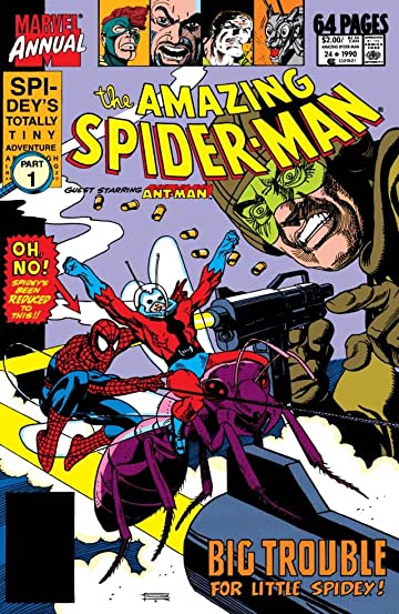 Amazing Spider-Man (1963-1998) Annual #24