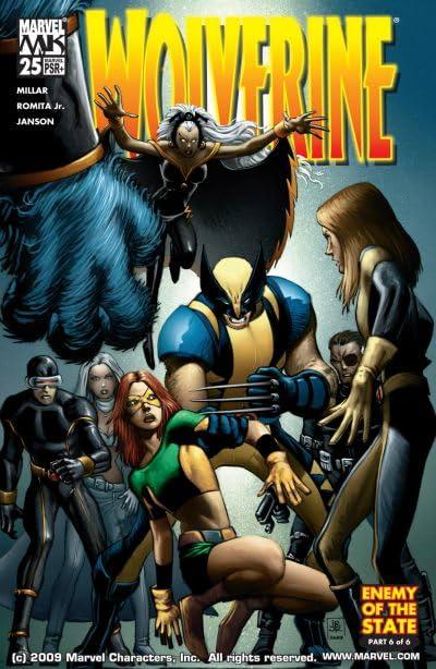 Wolverine (2003-2009) #25