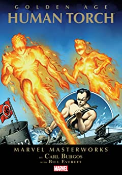 Golden Age Human Torch Masterworks Tome 1