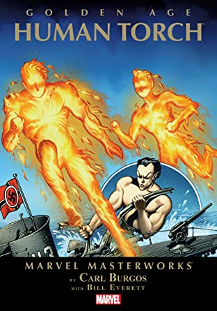 Golden Age Human Torch Masterworks Vol. 1