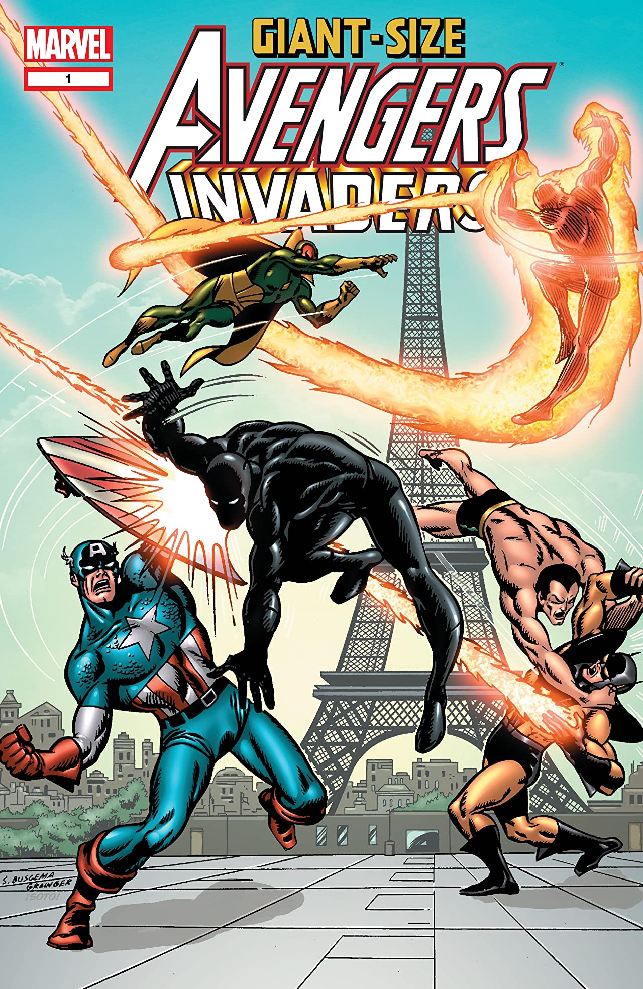 Giant-Size Avengers/Invaders (2008) #1