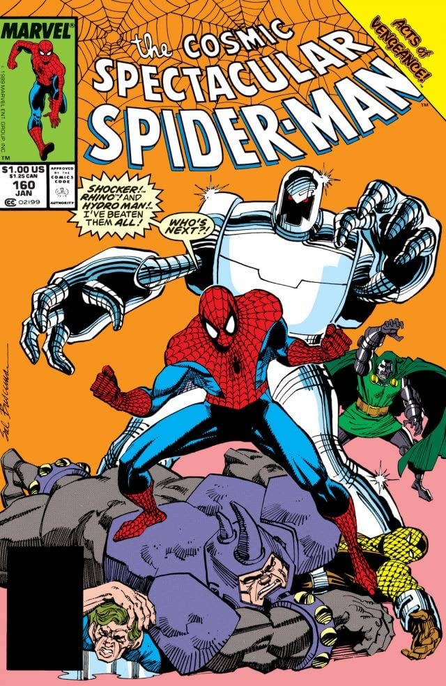 Peter Parker, The Spectacular Spider-Man (1976-1998) #160