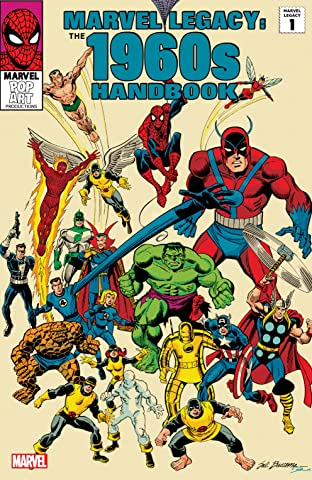 Marvel Legacy: The 1960s Handbook #1