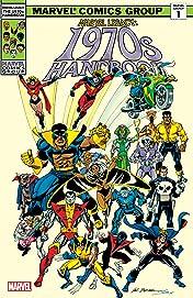 Marvel Legacy: The 1970s Handbook #1