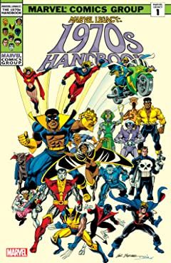 Marvel Legacy: The 1970s Handbook #1