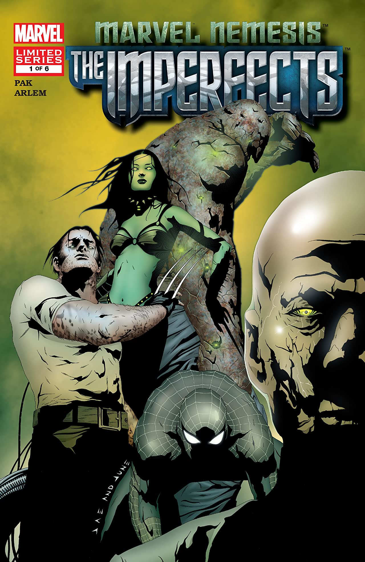 Marvel Nemesis: The Imperfects (2005) #1