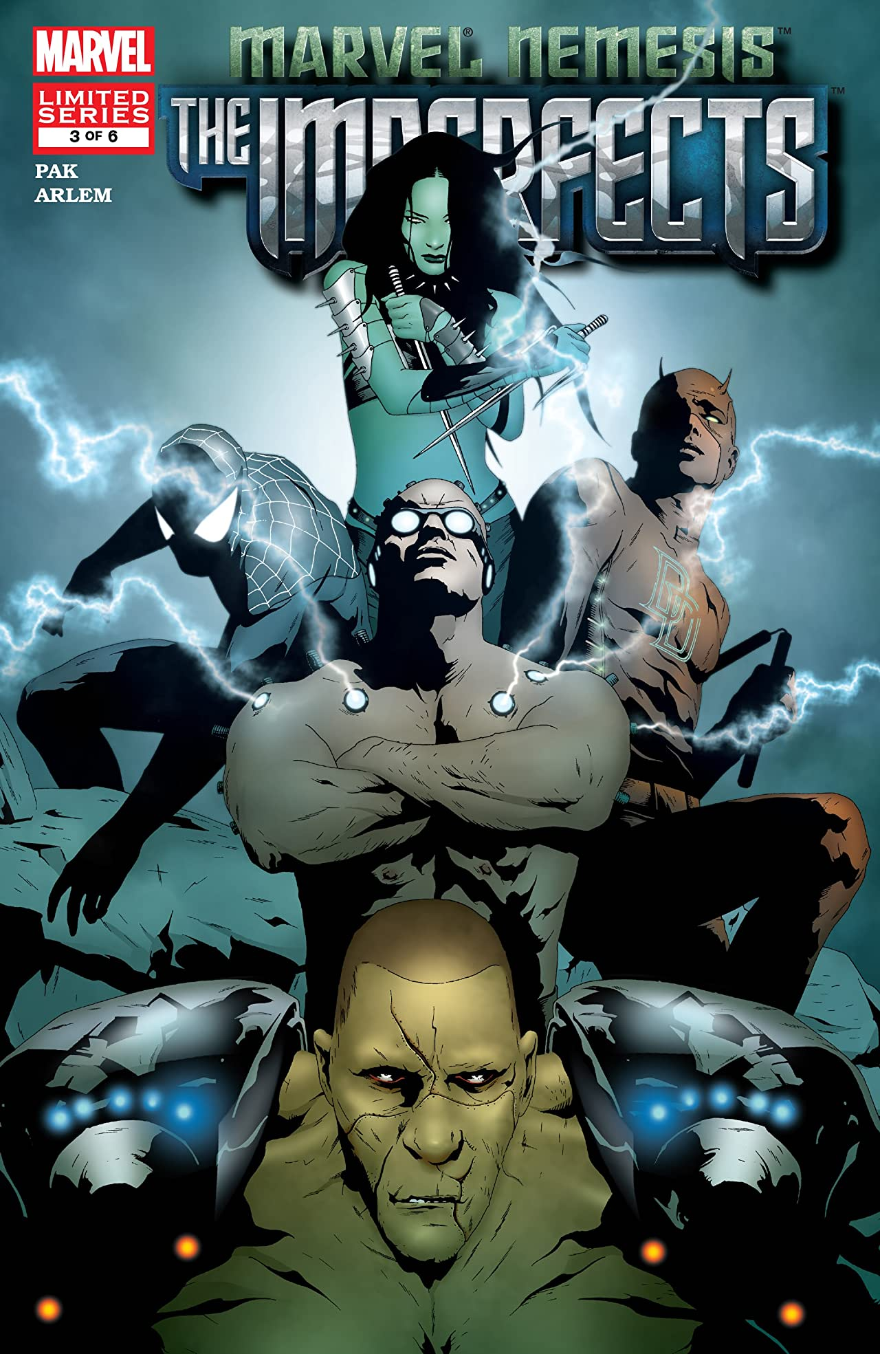 Marvel Nemesis: The Imperfects (2005) #3