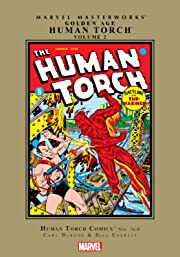 Golden Age Human Torch Masterworks Vol. 2