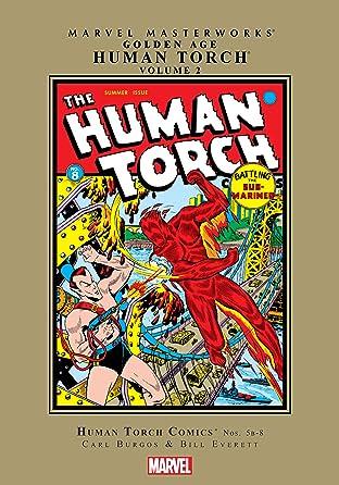 Golden Age Human Torch Masterworks Vol. 2