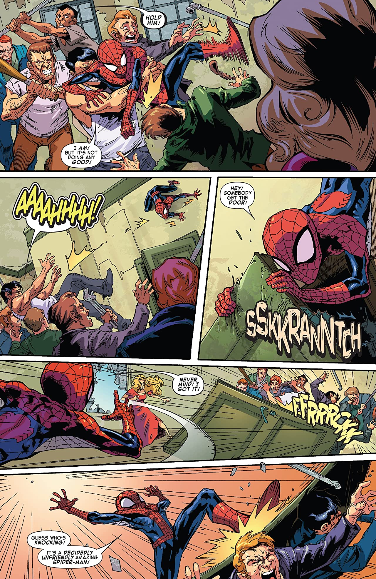 Marvel Adventures Spider-Man: Peter Parker vs. The X-Men