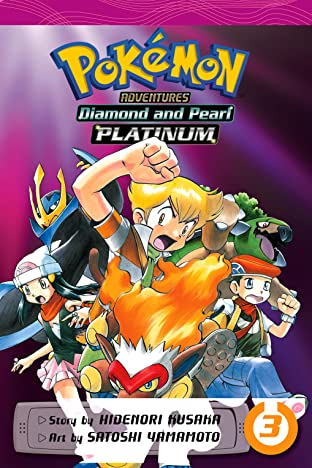 Pokémon Adventures: Diamond and Pearl/Platinum Tome 3