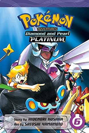 Pokémon Adventures: Diamond and Pearl/Platinum Tome 6