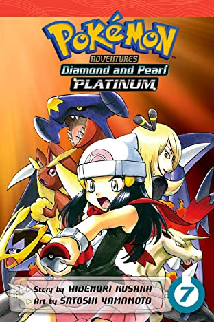 Pokémon Adventures: Diamond and Pearl/Platinum Tome 7