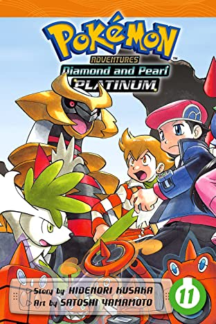 Pokémon Adventures: Diamond and Pearl/Platinum Tome 11