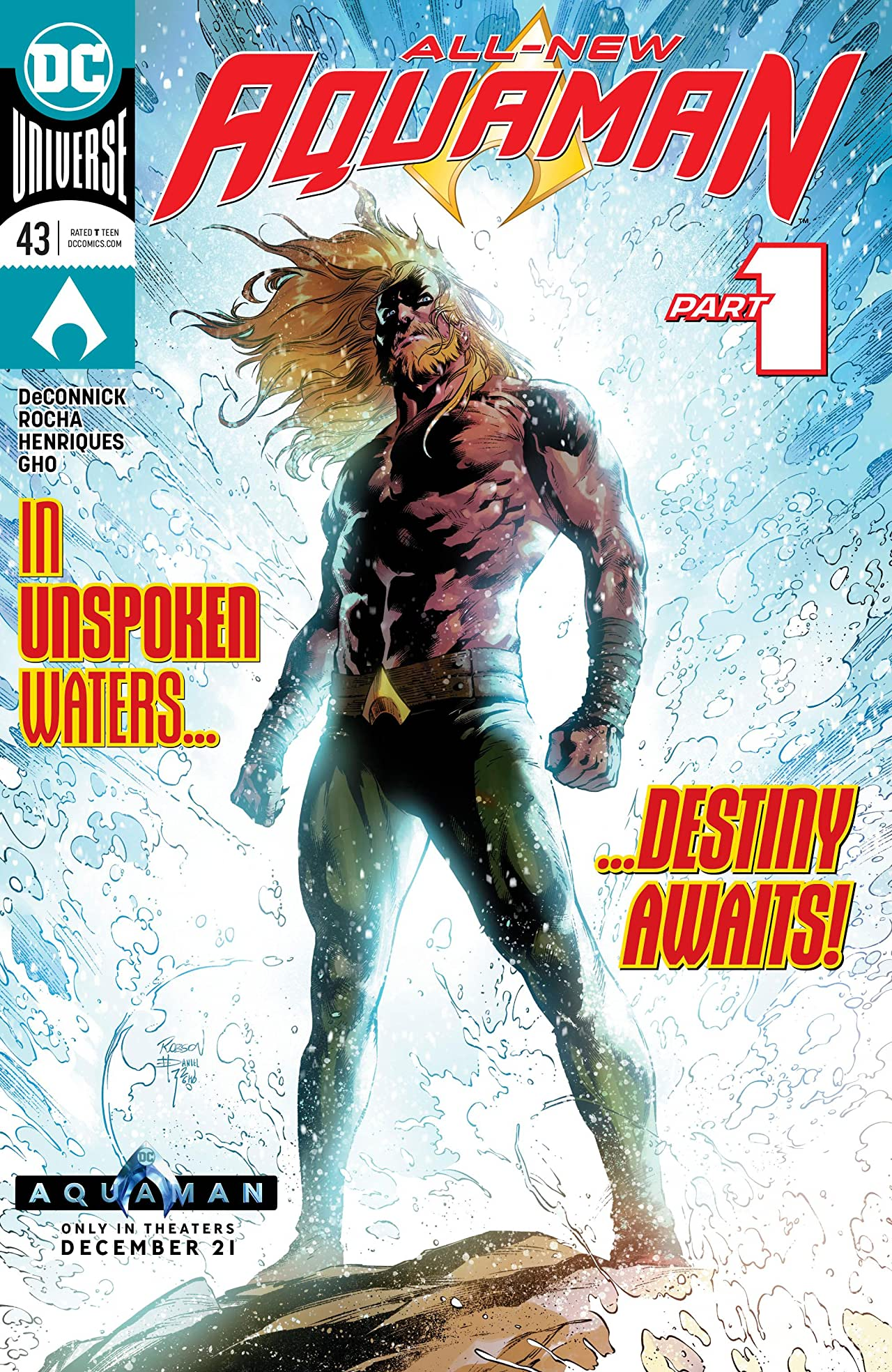 Aquaman (2016-) No.43