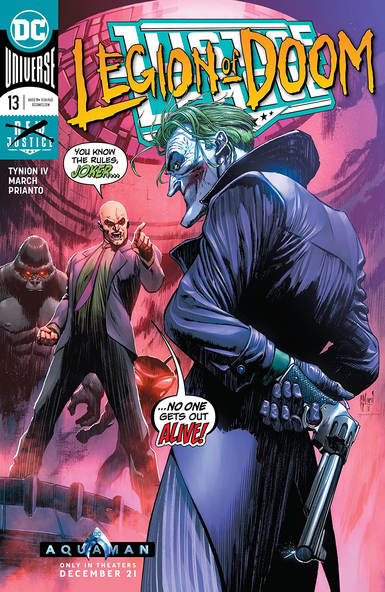 Justice League (2018-) No.13