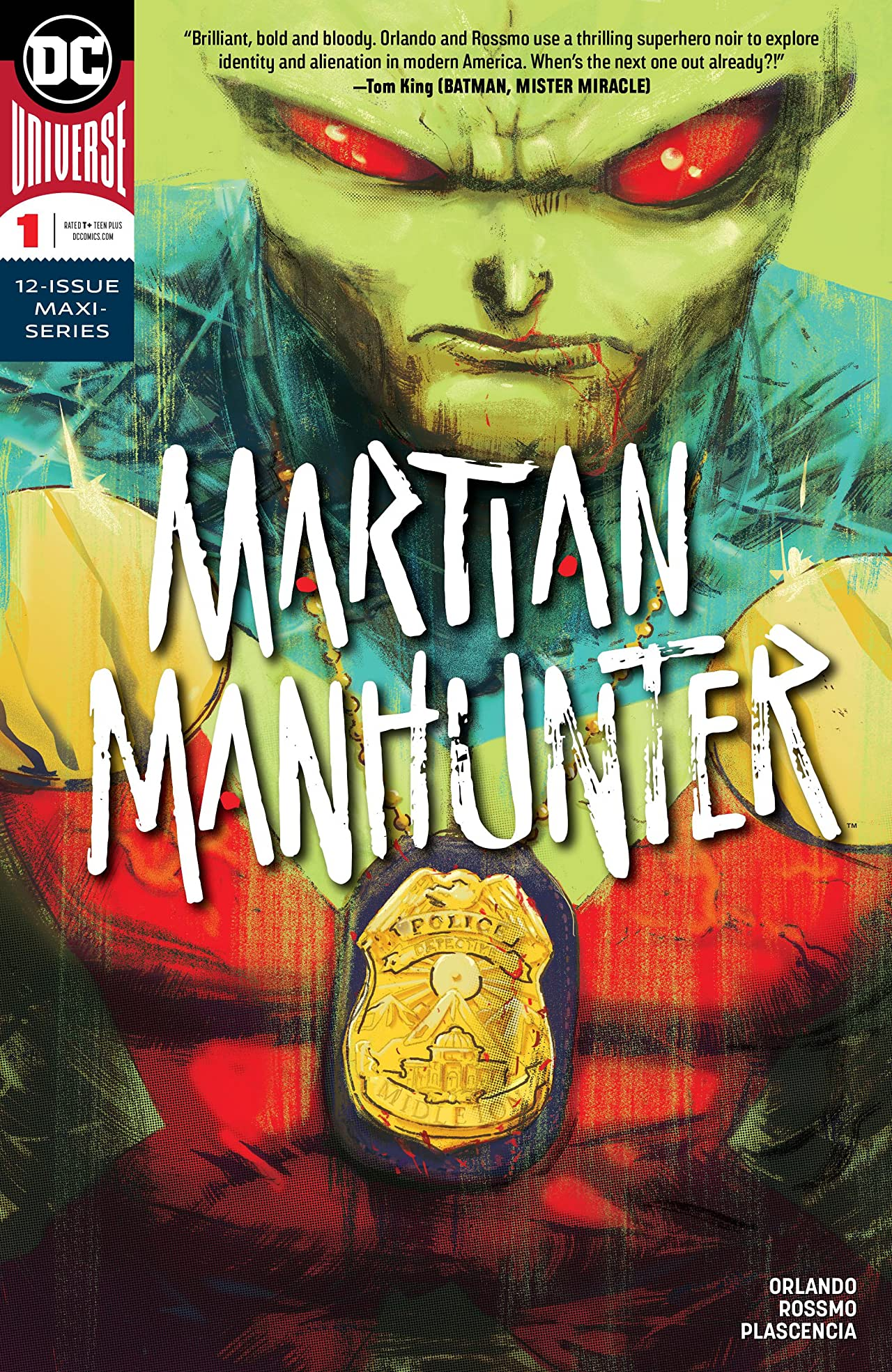 Martian Manhunter (2018-) #1