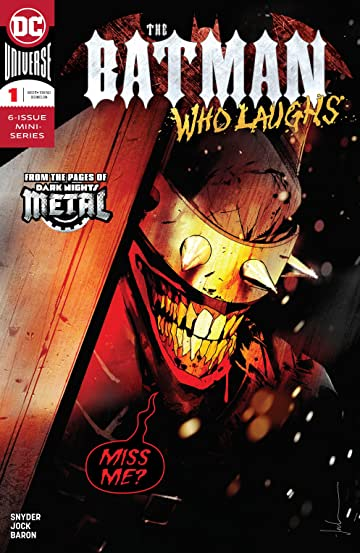The Batman Who Laughs (2018-2019) No.1